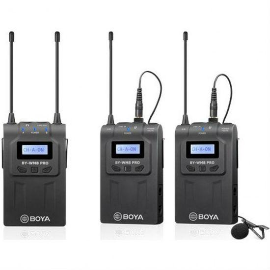 Boya BY-WM8 Pro-K2 UHF Draadloze Microfoon Set OUTLET