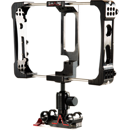 Shape Atomos Flame Cage with 15mm Rod Bloc Ball Head