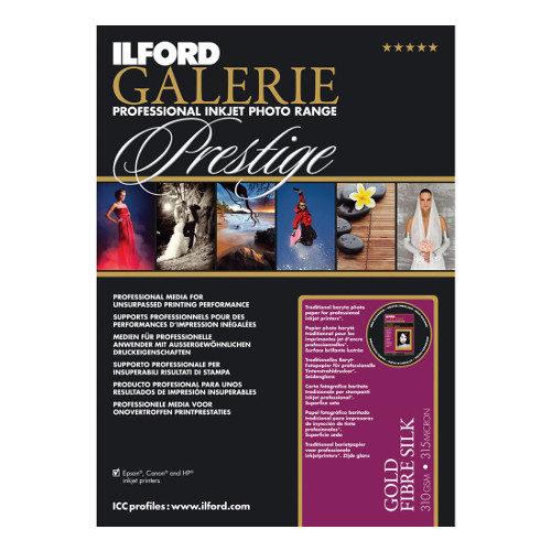 Ilford GALERIE Prestige Gold Fibre Silk A4 25 vel