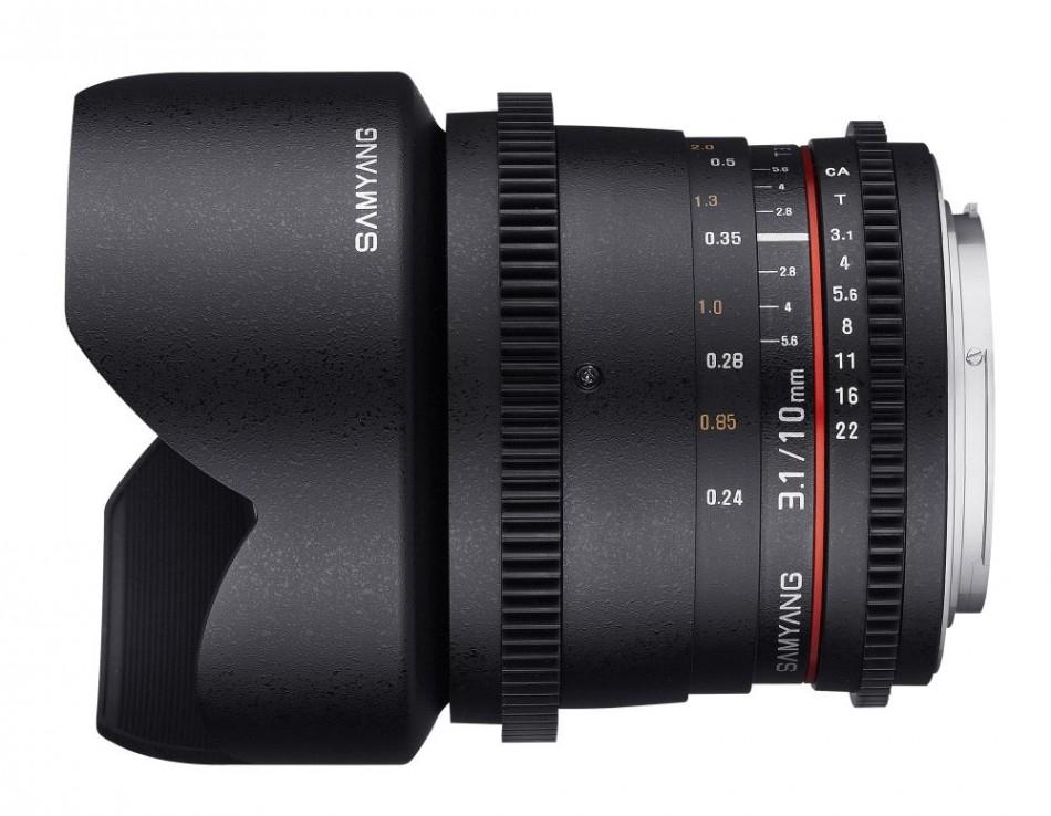 Samyang 10mm T3.1 ED AS NCS CS VDSLR Fuji