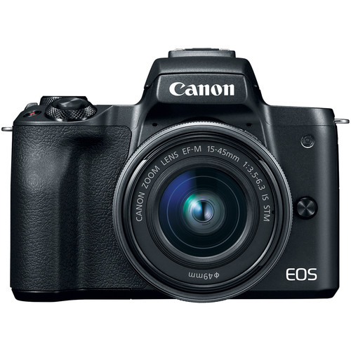 Canon EOS M50 zwart + 15-45mm IS STM