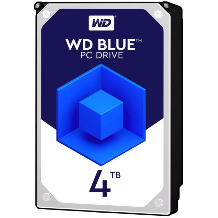 Western Digital SATA-3 4TB 64MB Blue 5400RPM