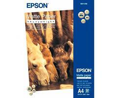 Epson S041256 A4 Matte Paper 50 vel