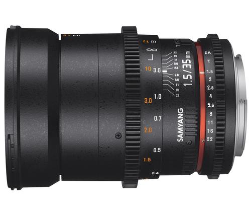 Samyang 35mm T1.5 VDSLR AS UMC II Sony FE