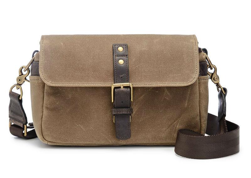 ONA The Bowery Messenger Bag Field Tan