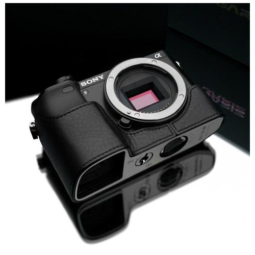 Gariz XS-CHA6000BK Halfcase Black voor A6000