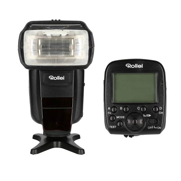 Rollei 56F Pro Flash Unit + Pro Radio Transmitter 2.4G voor Sony TTL