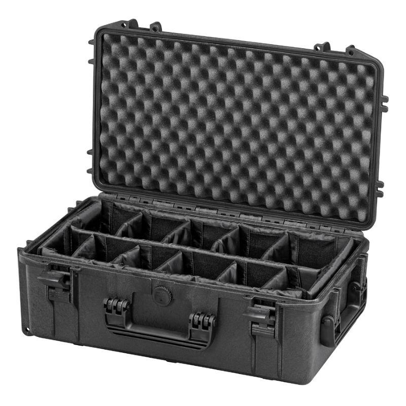 WCS Protection 520 koffer zwart incl. verdelerset