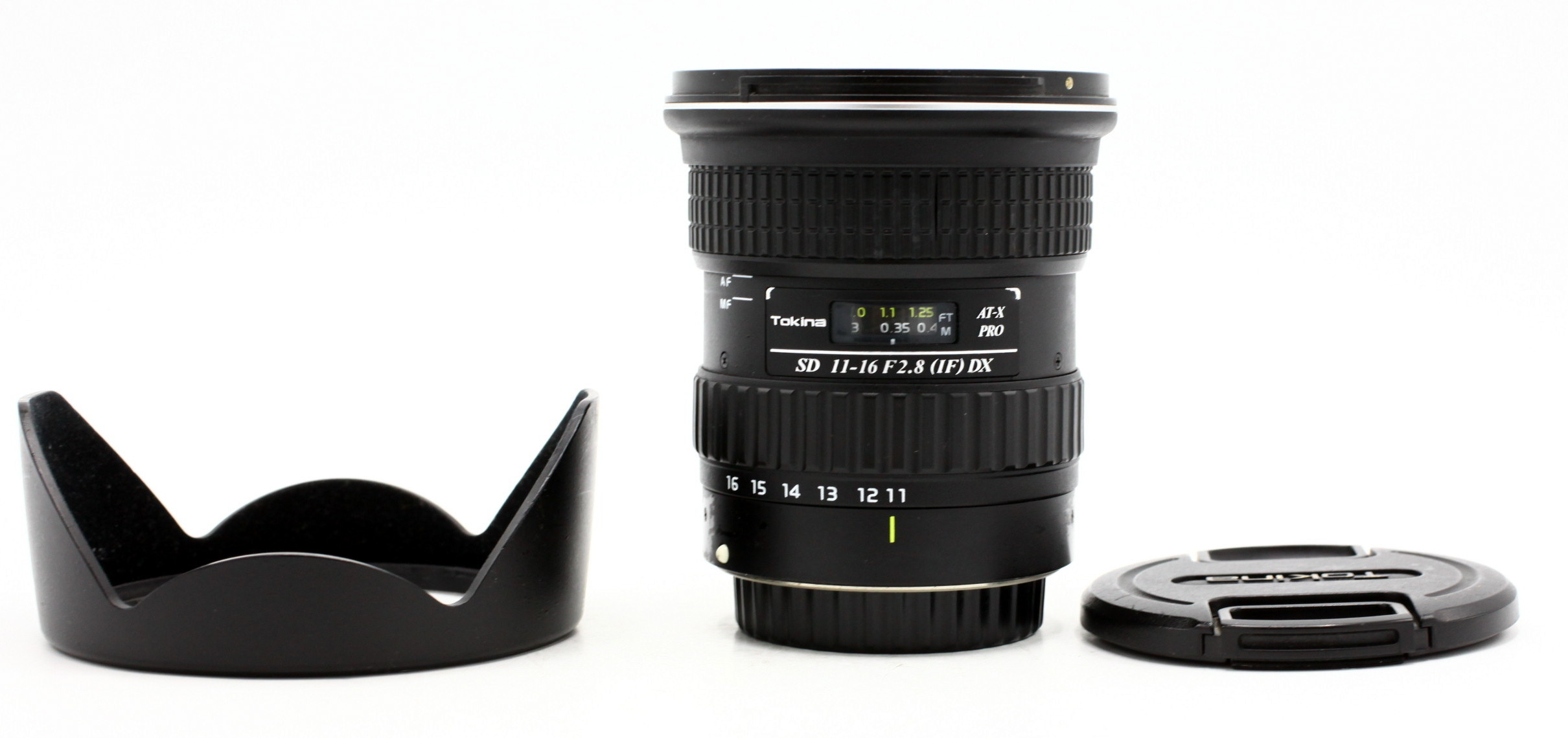 Tokina 11-16mm F/2.8 AT-X Pro IF DX Canon + zonnekap BH-77 occasion