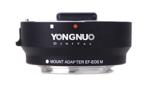 Yongnuo EF-EOS M smart adapter (van Canon EF naar Canon M-mount)