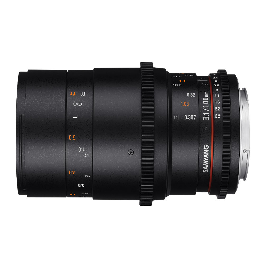 Samyang 100mm T3.1 ED UMC VDSLR Macro Nikon objectief