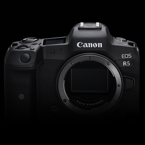 Canon EOS R5 front