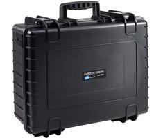 B&W outdoor.cases type 6000 zwart + verdeler
