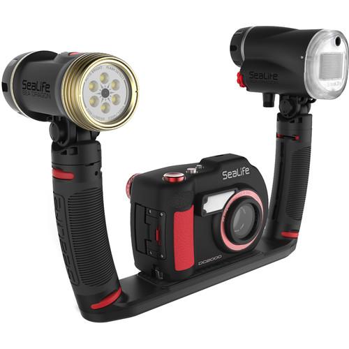 Sealife SL746 DC2000 Camera + Sea Dragon DUO 2300 Flash Set