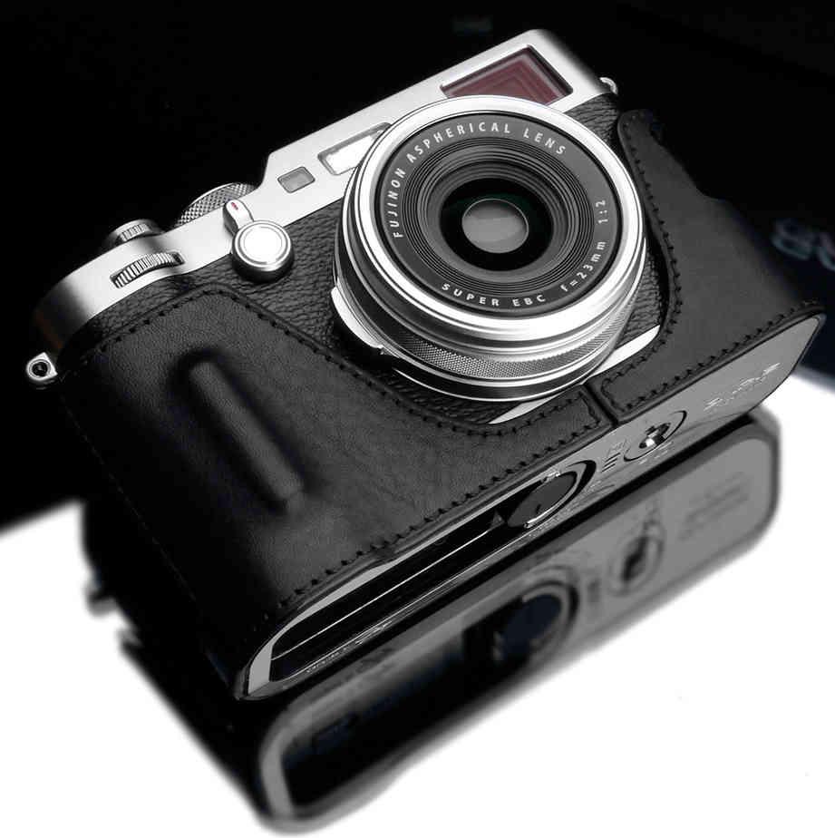 Gariz HG-X100FBK Halfcase zwart voor X-100F