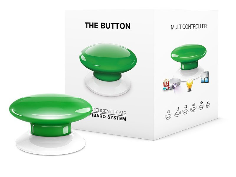 Fibaro The Button Green
