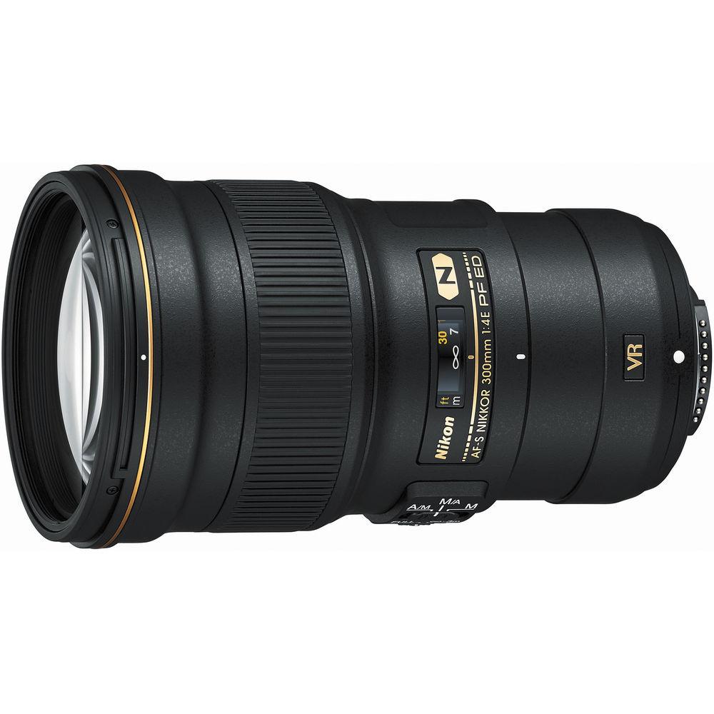 Nikon AF-S 300mm F/4.0E PF ED VR + HB-73 zonnekap