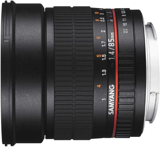 Samyang 85mm F/1.4 Fuji X