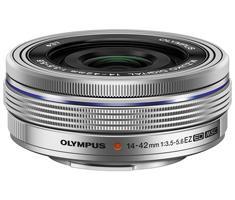 Olympus M.Zuiko Digital 14-42mm F/3.5-5.6 Pancake EZ zilver
