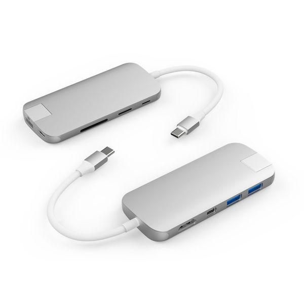 Hyper Slim USB-C Hub zilver