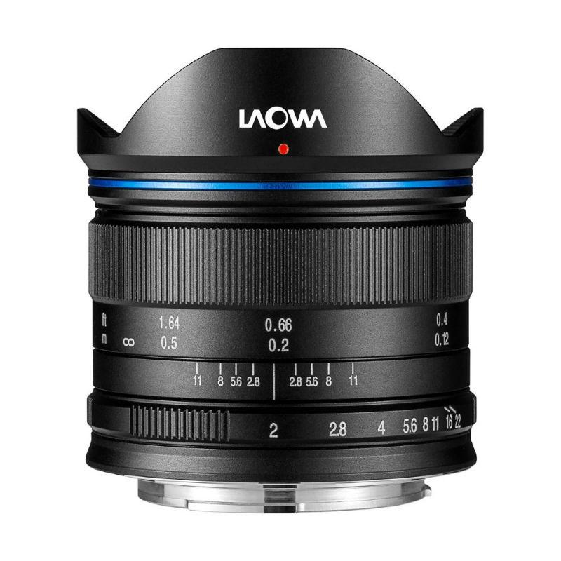 Venus Optics Laowa 7.5mm F/2.0 Lightweight Black MFT