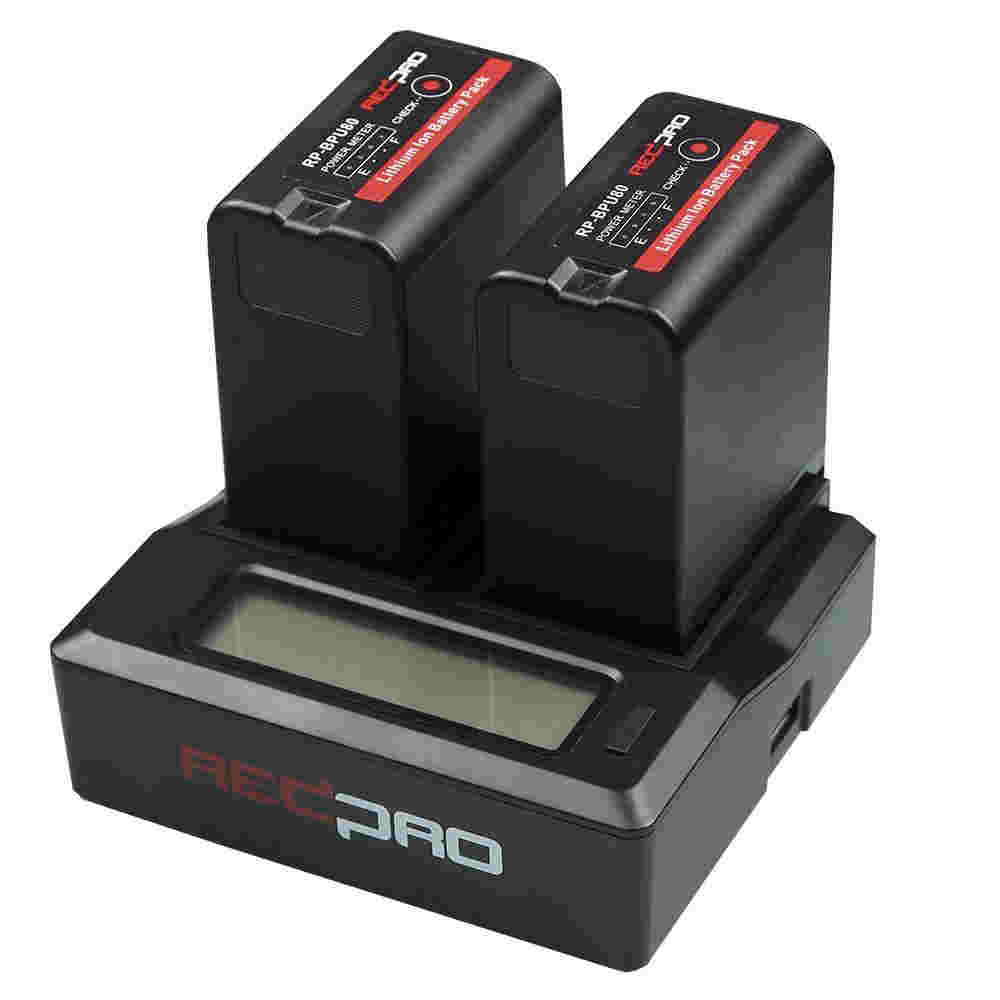HedBox RP-DC50 Dual Battery Charger