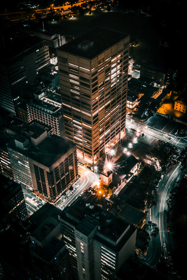 nachtfotografie stad