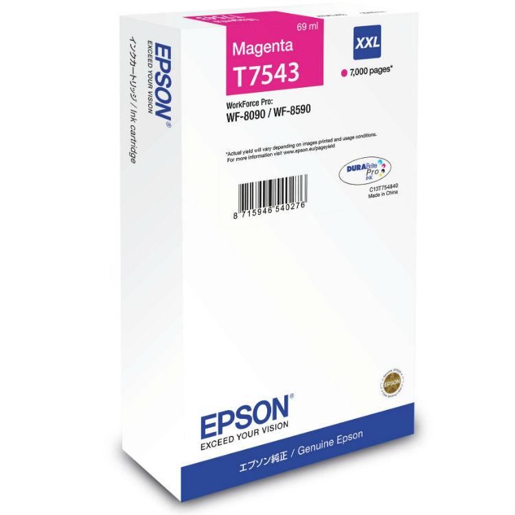 Epson T7543 Magenta XXL Inkt