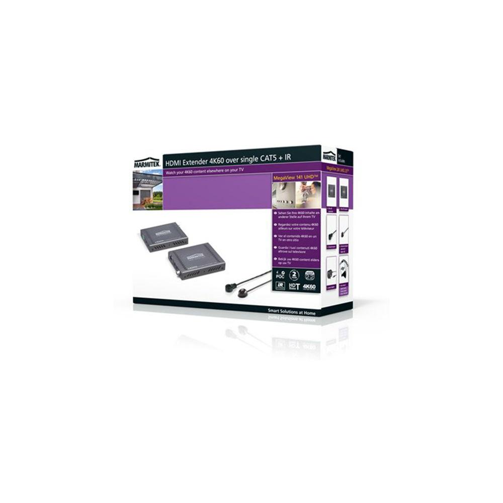 Marmitek Megaview 141 UHD™ HDMI Extender 4K60 over single CAT5 + IR