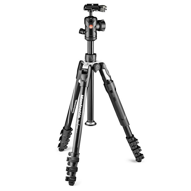 Manfrotto Befree 2N1 Aluminium Lever Lock Kit with 494 Ball Head