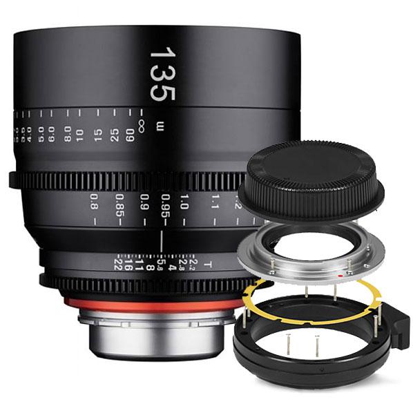 Xeen 135mm T2.2 FF Cine Canon EF + Mount Kit Sony E