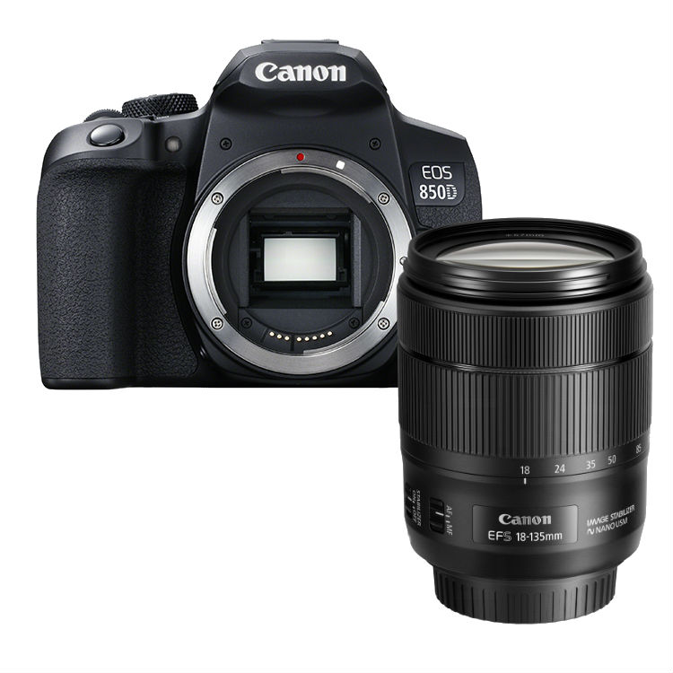 Canon EOS 850D + 18-135mm iS nano-USM