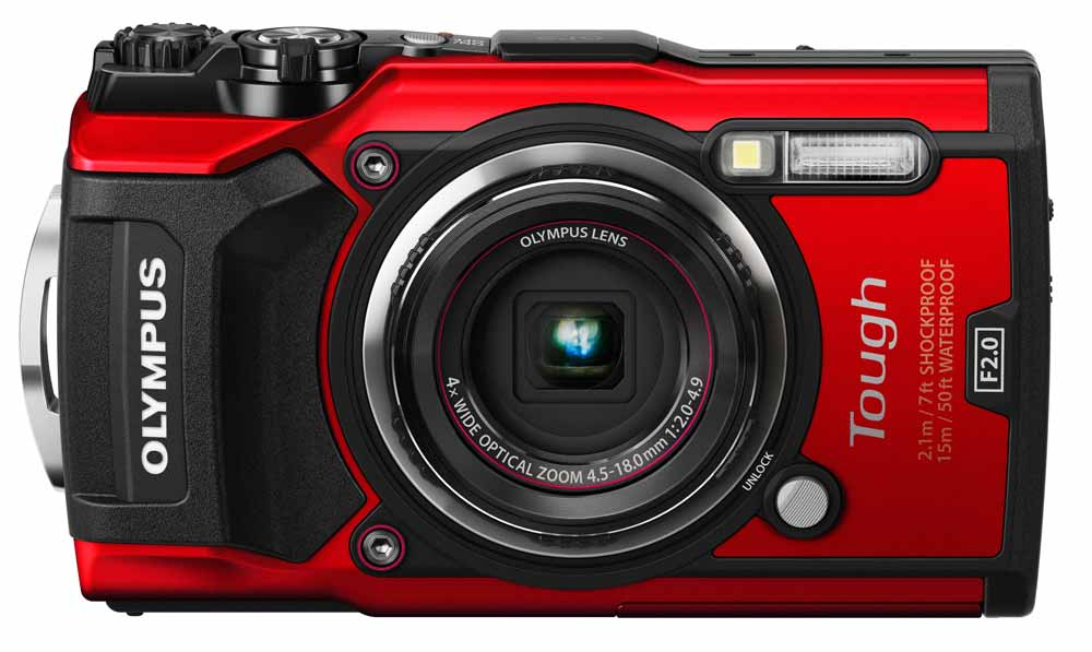 Olympus Stylus Tough TG-5 rood