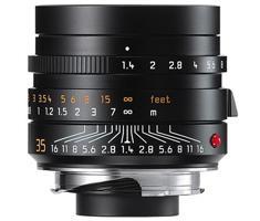 Leica 11663 M 35mm F/1.4 Summilux ASPH zwart