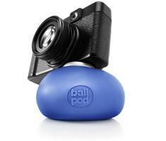 Ballpod 8cm blauw