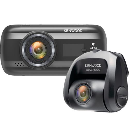 Kenwood DVR-A601W + KCA-R200 dashcam + rear camera