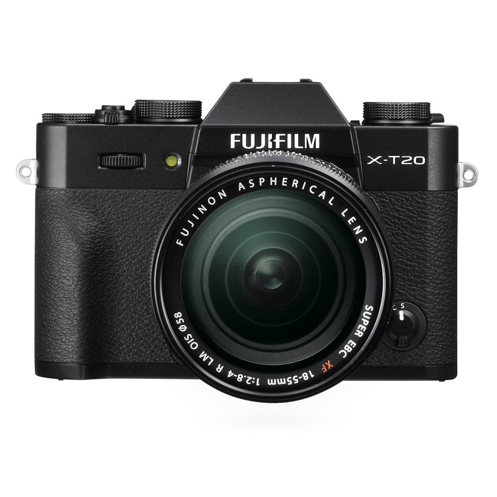 Fujifilm X-T20 zwart + 18-55mm F/2.8-4.0 R LM OIS