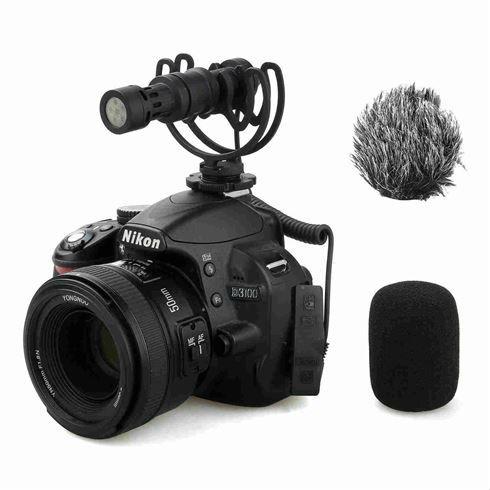 Comica CVM VM10 II Microfoon Zwart
