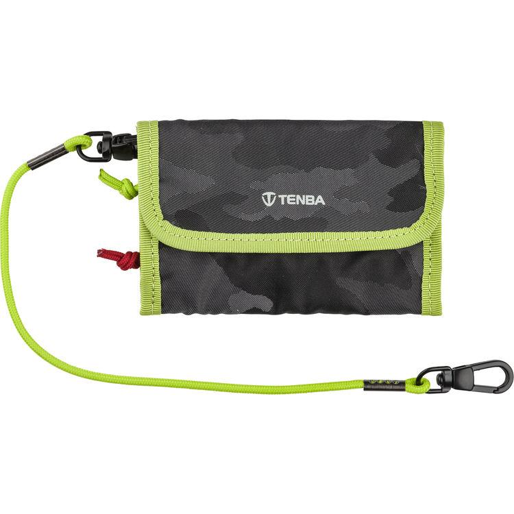 Tenba 636-254 Reload Universal Card Wallet Camo/Lime