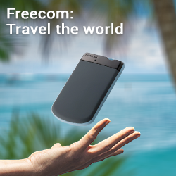 Travel the world met Freecom