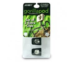 Joby Original GorillaPod Clips 2 Units Black