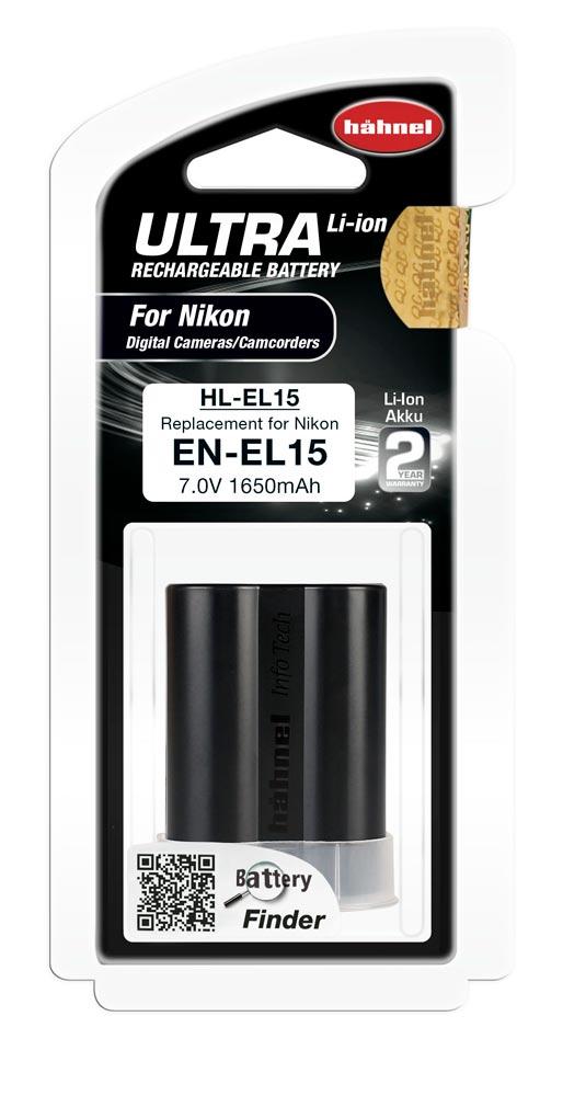 Hahnel HL-EL15 Ultra Li-Ion Accu voor Nikon