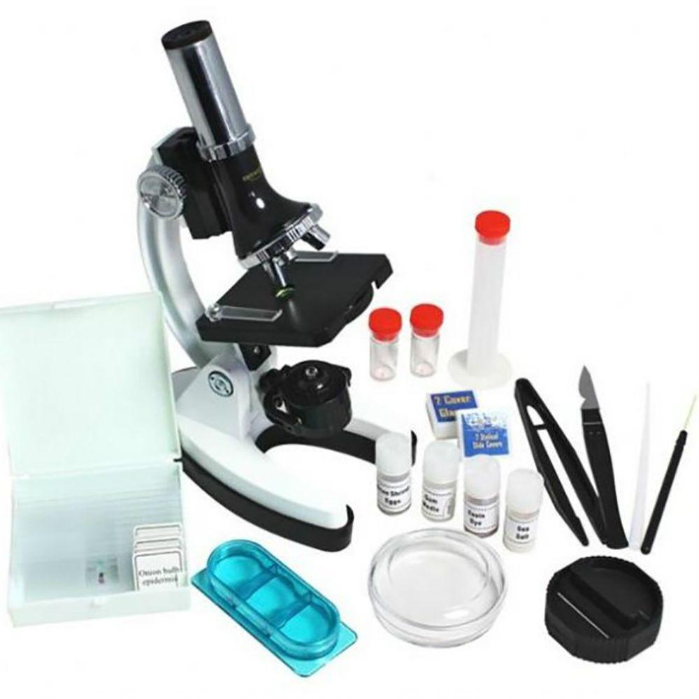 Byomic Beginners Microscoopset 100, 400 en 900x in Koffer