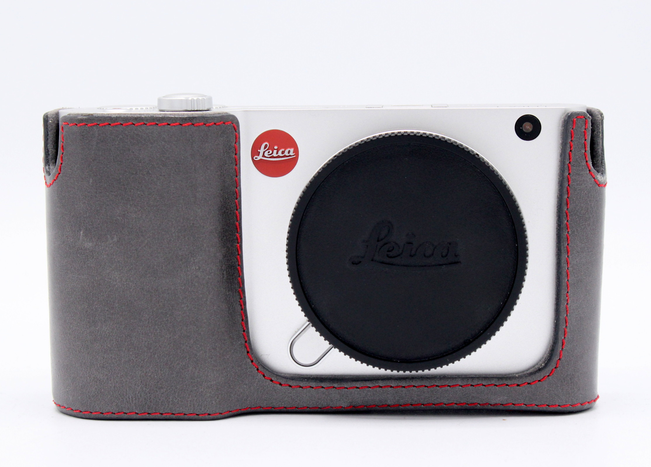 Leica T Body Zilver + Custom Leathercase occasion