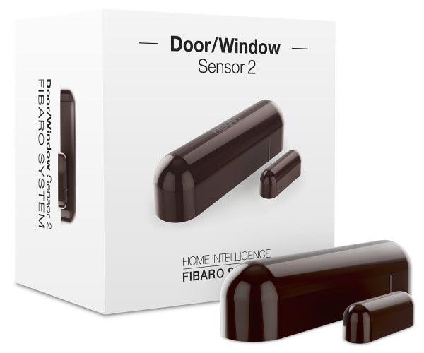 Fibaro Door/Window Sensor 2 Dark Brown