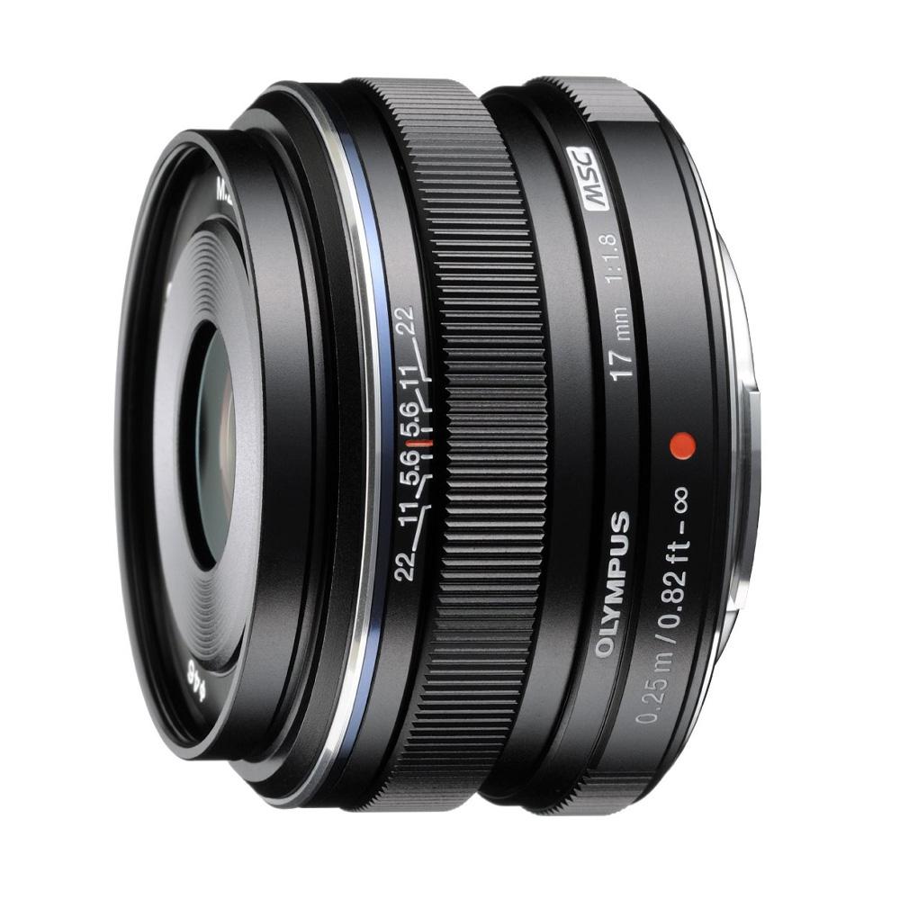 Olympus MFT 17mm F/1.8 zwart M.Zuiko Digital