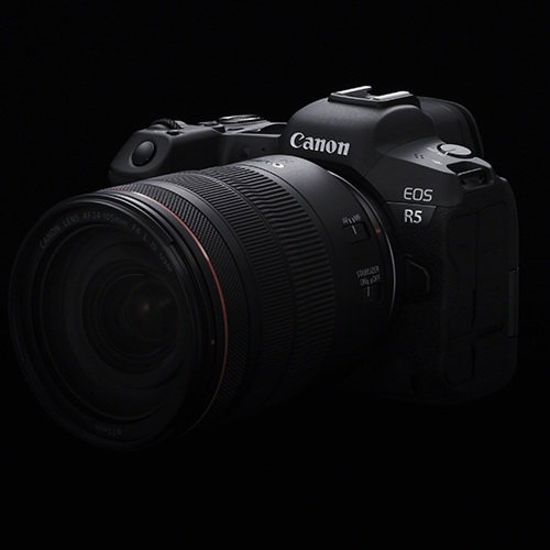 Canon EOS R5 side