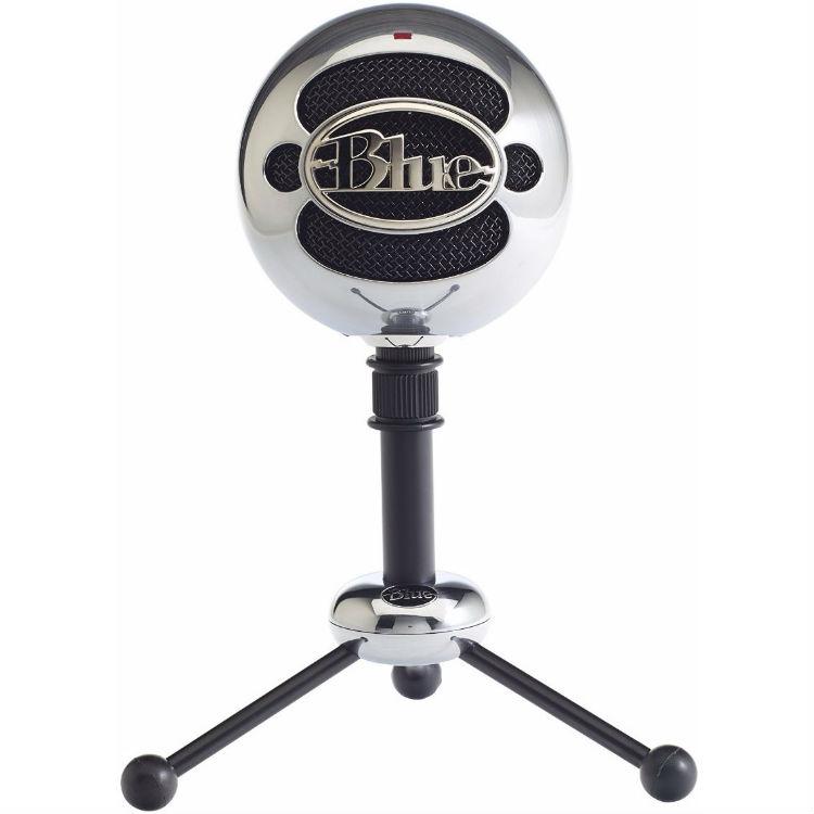 Blue Microphones Snowball USB Microphone (Brushed Aluminium)