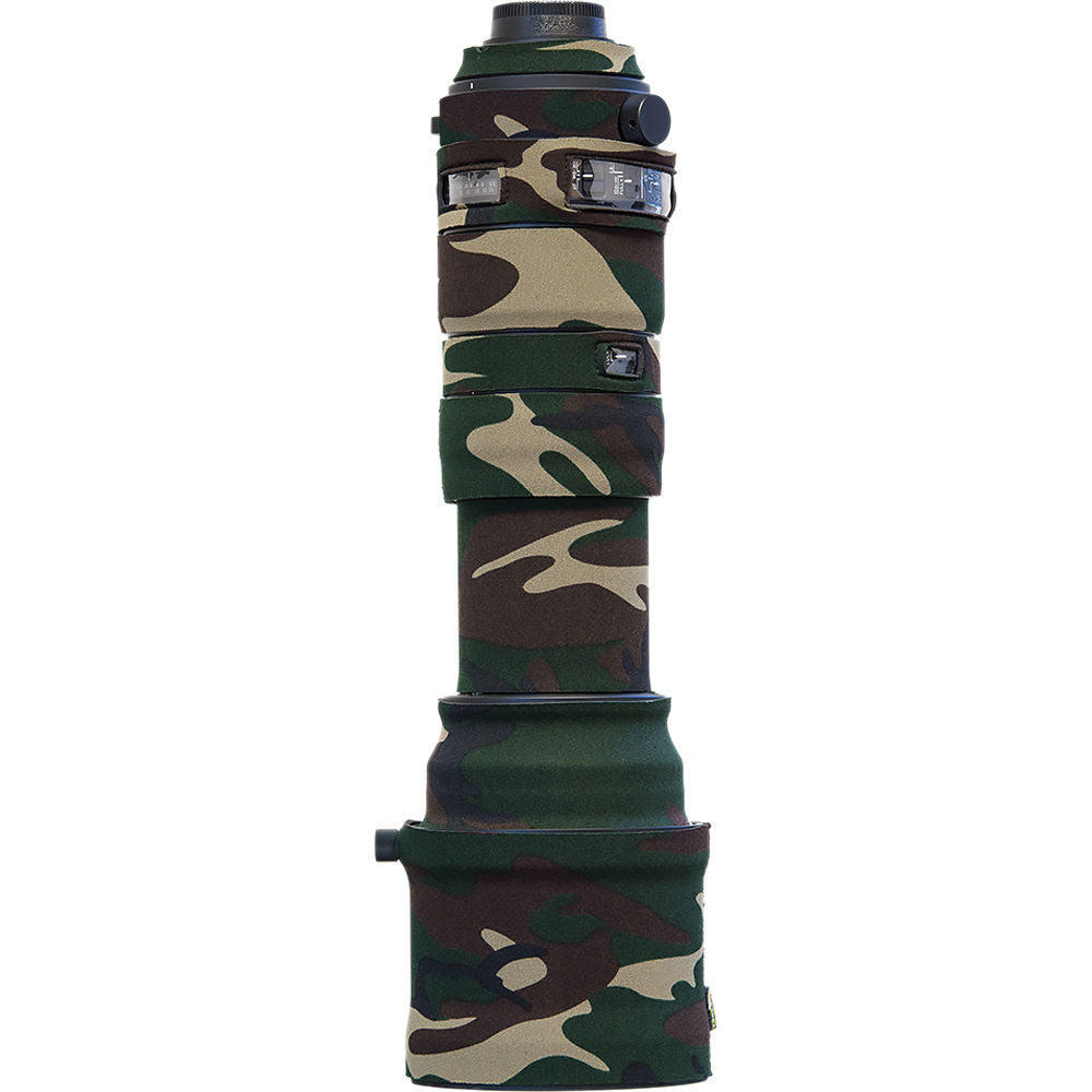 LensCoat Sigma 150-600mm Sport Forest Green Camo