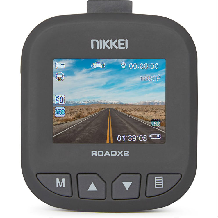 Nikkei RoadX2 Full-HD Dashcam